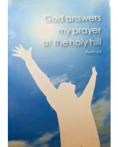 God Answers my Prayer at the Holy Hill