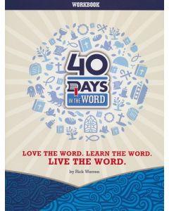 40 Days In The Word - Workbook