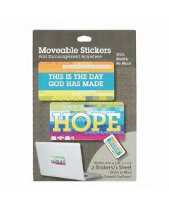 Moveable Stickers-HOPE, Set/2 (36989)