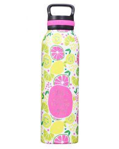 Water Bottle: Stainless Steel, Taste and See, FLS052