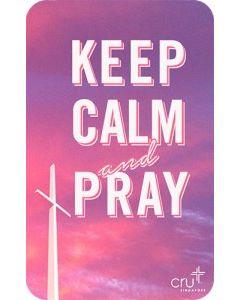 Gift Card – Keep Calm & Pray