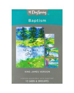 Boxed Cards-Baptism Step of Faith