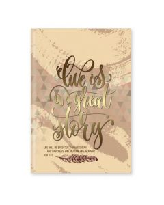 Journal Hardcover-Live Is a Great Glory