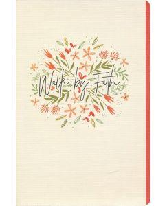 Journal-Walk by Faith, Floral