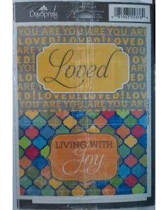Moveable Stickers-Loved, Set/2 (36990)