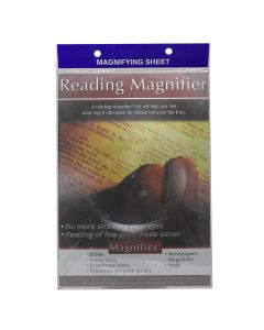 Magnifying Sheet Page, MST152