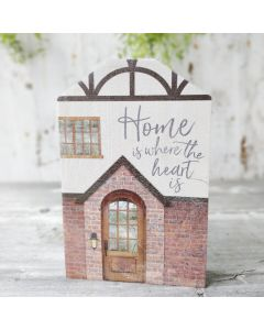 Word Block Tabletop: Home Is Where The Heart Is, HOU0076