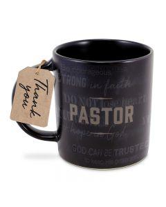 Mug:Ceramic-Pastor,  Jer 17:7, 18239+ Sept