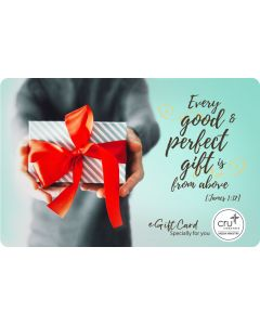 E-Gift Card - Every Good & Perfect Gift