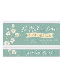 Ornate Decor: Be Still & Know That I Am God, PMW0002