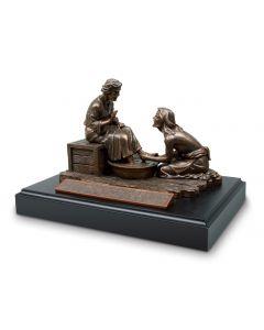 Sculpture-Handcast Resin: Humble Servant, 20111