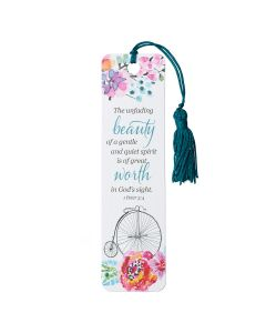 Bookmark (Tassel)-Unfading Beauty, TBM106