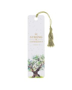 Bookmark (Tassel)-Be strong and courageous, TM120
