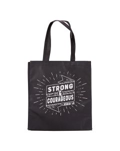 Tote Bag:Strong And Courageous TOT091
