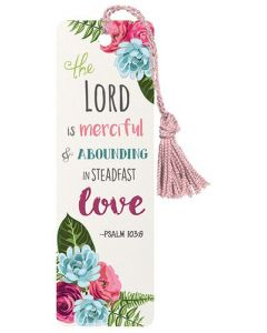 Bookmark-The Lord Is Merciful, YD185